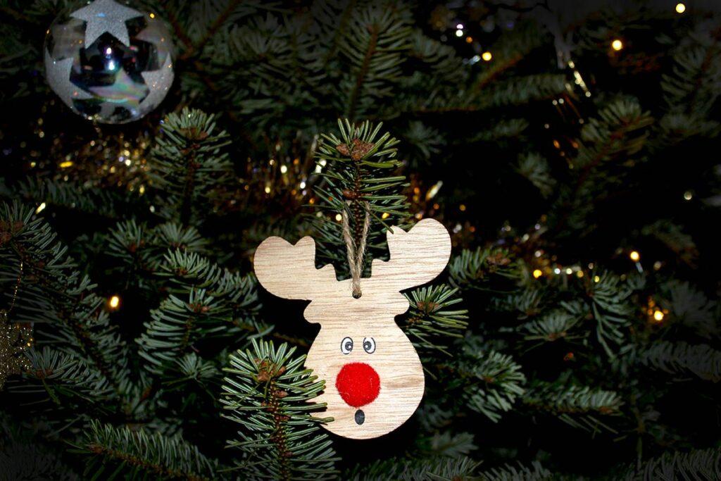 Een leuk detail in de kerstboom