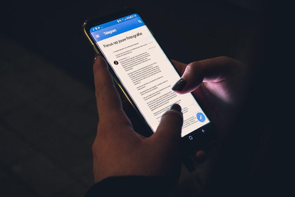 Telegram - vraag het Merel - Focus op jouw fotografie